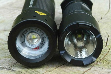 Led Lenser vs Fenix 007