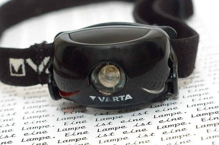 Varta Sports Head Light 001